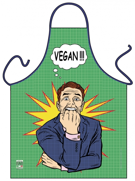 Schürze - Pop Art - Vegan