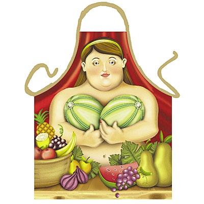 Schürze - Botero Frau