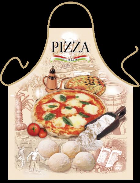 Pizza Schürze ITATI-Textilien (GR-19555) www.itati-shop.de