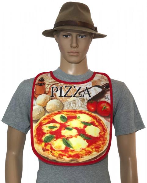 Latz für Erwachsene - PIZZA (BA-20159) - ITATI-Textilien