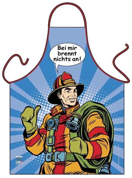 Schürze - Pop Art - Feuerwehr
