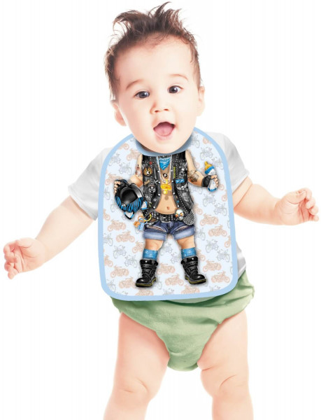 Lätzchen Baby Biker Junge ITATI-Textilien