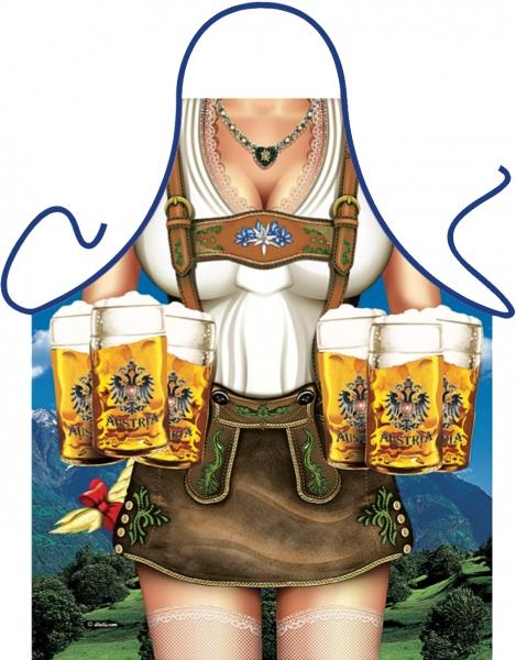 Schürze = Tiroler Frau