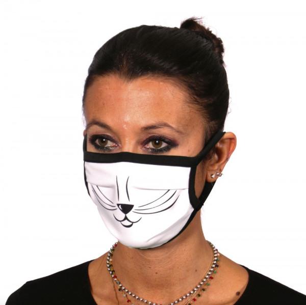 Gesichtsmaske Katzengesicht