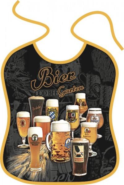 Lätzchen für Erwachsene - Biergarten