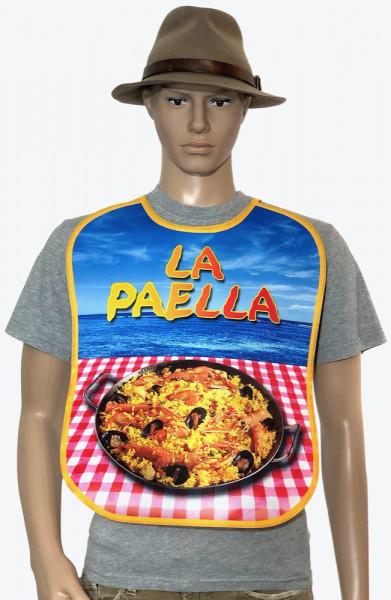 Sabberlatz für Erwachsene - Paella