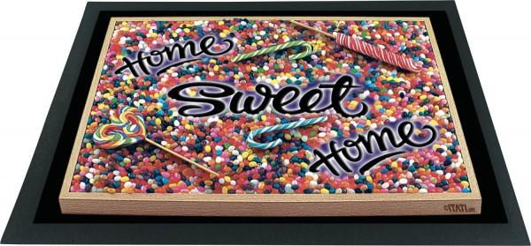 Fussmatte 3D Home-Sweet-Home ITATI-Textilien