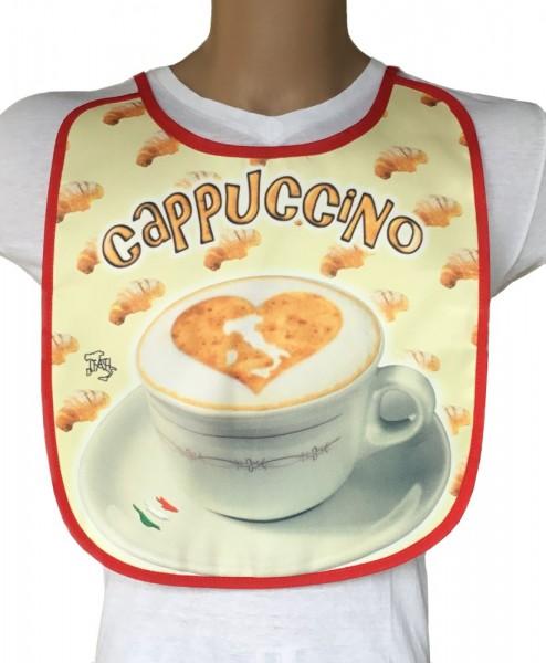Lustiges Lätzen für Erwachsene - Kaffee - Cappuccino (BA-20161)