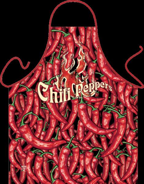 Chili Peppers Schürze ITATI-Textilien (GR-28445) www.itati-shop.de